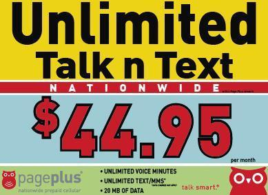 Unlimited Talk and Text